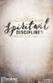 Spriritual Disciplines